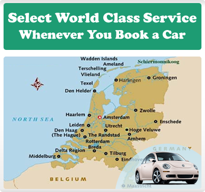 Select World Class Service Whenever You Book a Car